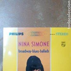 Discos de vinilo: NINA SIMONE - BROADWAY BLUES BALLADS. LP VINILO PRECINTADO. Lote 159838876