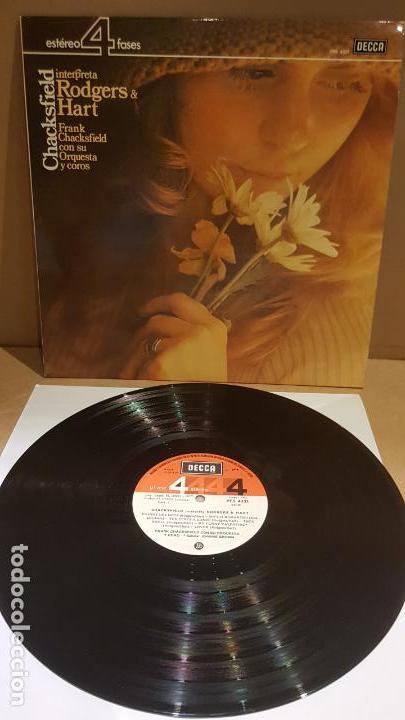 CHACKSFIELD INTERPRETA RODGERS & HART / LP - DECCA-1977 / CALIDAD LUJO. ****/**** (Música - Discos - LP Vinilo - Orquestas)