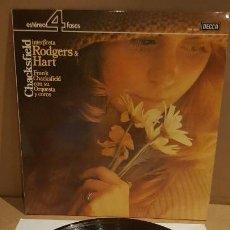 Discos de vinilo: CHACKSFIELD INTERPRETA RODGERS & HART / LP - DECCA-1977 / CALIDAD LUJO. ****/****. Lote 159873386