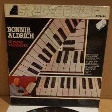 Discos de vinilo - RONNIE ALDRICH / SU PIANO Y ORQUESTA / SERIE ESPECTACULAR / LP - COLUMBIA-1982 / MBC. ***/*** - 159874278