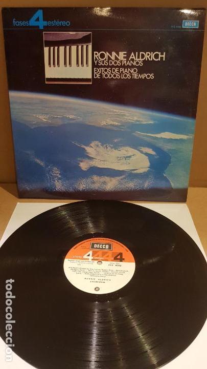 RONNIE ALDRICH Y SUS DOS PIANOS / ÉXITOS DE TODOS LOS TIEMPOS / LP - DECCA-1967 / LUJO. ****/**** (Música - Discos - LP Vinilo - Orquestas)
