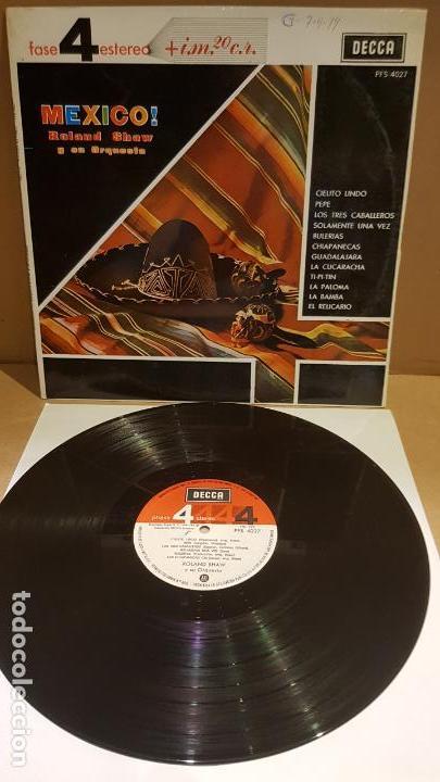 ROLAND SHAW Y SU ORQUESTA / MEXICO / LP - DECCA-1963 / MBC. ***/*** (Música - Discos - LP Vinilo - Orquestas)