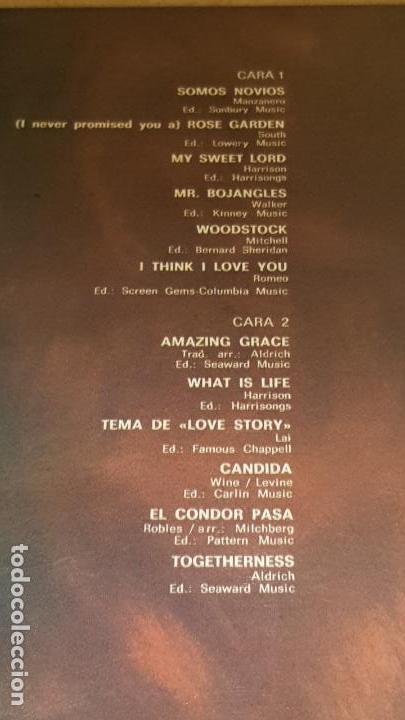 Discos de vinilo: RONNIE ALDRICH Y SUS DOS PIANOS / LOVE STORY / LP - DECCA-1973 / CALIDAD LUJO.****/**** - Foto 3 - 159876838