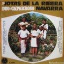 Discos de vinilo: DUO DE CAPARROSO: JOTAS DE LA RIBERA NAVARRA: SIEMPRE QUE UN NAVARRO CANTA + 7. Lote 159879486