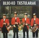 Discos de vinilo: BILBO-KO TXISTULARIAK: AURRESKU VIZCAINO / BAILABLES VASCOS. Lote 159881274