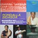 Discos de vinilo: RONDALLA BIDASOA: MARKIÑA´KO PELOTARIAK / EN UN VELERO / NOCHES DEL NORTE / BILBAINADAS. Lote 159884426