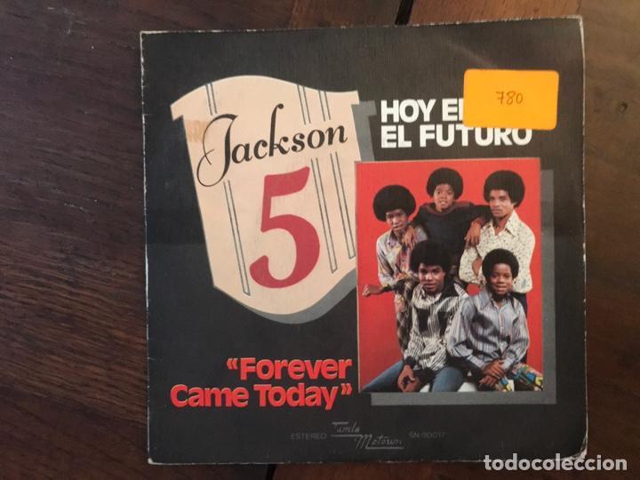 JACKSON 5 ?– FOREVER CAME TODAY (HOY EMPEZO EL FUTURO) SELLO: TAMLA MOTOWN ?– SN-90017 (Música - Discos - Singles Vinilo - Funk, Soul y Black Music)