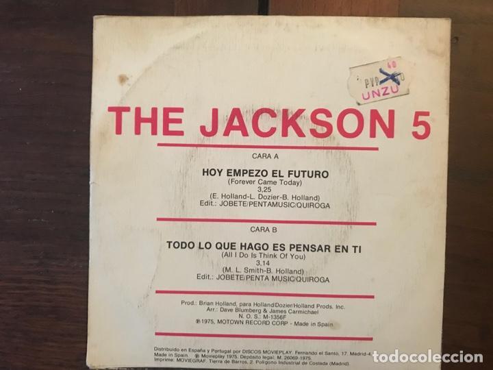 Discos de vinilo: Jackson 5 ?– Forever Came Today (Hoy Empezo El Futuro) Sello: Tamla Motown ?– SN-90017 - Foto 2 - 159890766