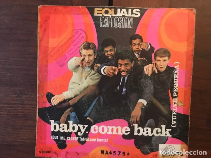 Discos de vinilo: The Equals ?– Baby, Come Back = Vuelve Pequeña Sello: Sintonia ?– S-83.012 Formato: Vinyl, 7 , 45 RP - Foto 2 - 159891246