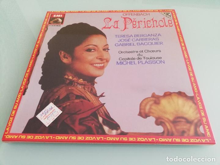 15 CAJAS DE VINILOS CLÁSICA (EMI, DEUTSCHE GRAMMOPHON: LA PERICHOLE, ERNANI, CARMEN...) (Música - Discos - Singles Vinilo - Clásica, Ópera, Zarzuela y Marchas)