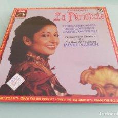 Discos de vinilo: 15 CAJAS DE VINILOS CLÁSICA (EMI, DEUTSCHE GRAMMOPHON: LA PERICHOLE, ERNANI, CARMEN...). Lote 159900026
