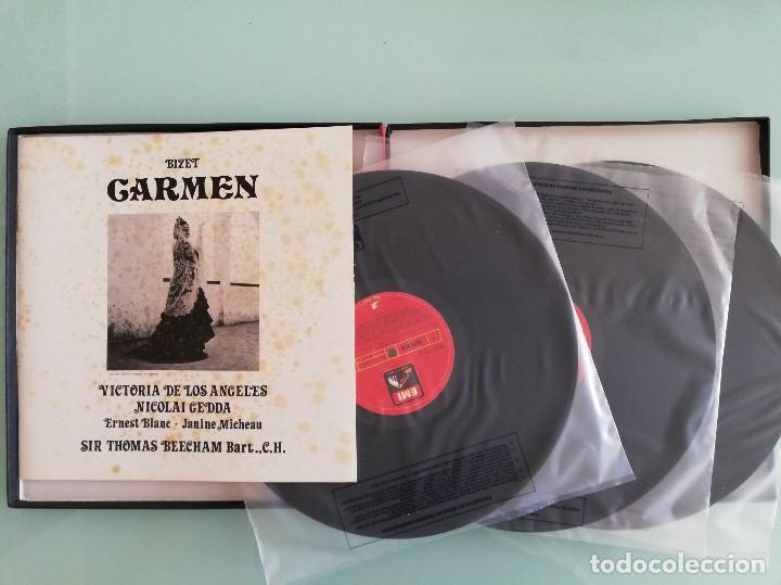 Discos de vinilo: 15 cajas de vinilos clásica (EMI, Deutsche Grammophon: La Perichole, Ernani, Carmen...) - Foto 4 - 159900026