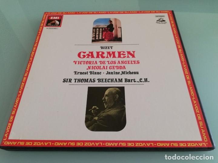 Discos de vinilo: 15 cajas de vinilos clásica (EMI, Deutsche Grammophon: La Perichole, Ernani, Carmen...) - Foto 5 - 159900026