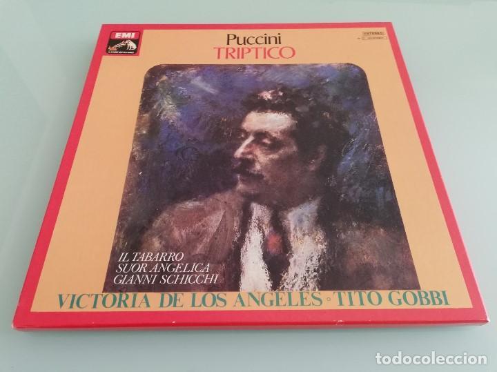 Discos de vinilo: 15 cajas de vinilos clásica (EMI, Deutsche Grammophon: La Perichole, Ernani, Carmen...) - Foto 7 - 159900026