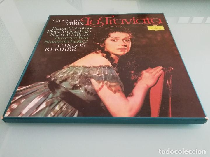 Discos de vinilo: 15 cajas de vinilos clásica (EMI, Deutsche Grammophon: La Perichole, Ernani, Carmen...) - Foto 23 - 159900026