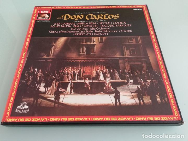 Discos de vinilo: 15 cajas de vinilos clásica (EMI, Deutsche Grammophon: La Perichole, Ernani, Carmen...) - Foto 27 - 159900026