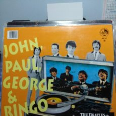 Discos de vinilo: MAXI THE BEATLES REVIVAL BAND : JOHN, PAUL, GEORGE & RINGO (PETER COLUMBUS JIVE MEDLEY). Lote 159907342