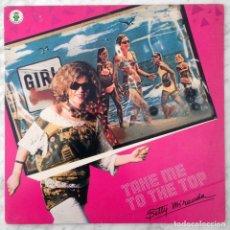 Discos de vinilo: MAXI-SINGLE - BETTY MIRANDA - TAKE ME TO THE TOP - IL DISCOTTO - 1984 (ITALO-DISCO). Lote 159911806