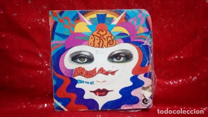 LOS BRINCOS ?– AMIGA MÍA SELLO: NOVOLA ?– NOX-61 SERIE: TOP-HIT – FORMATO: VINYL, 7 , 45 RPM, SINGLE (Música - Discos de Vinilo - Maxi Singles - Solistas Españoles de los 70 a la actualidad)