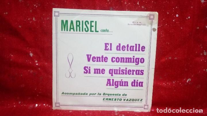 MARISEL&ERNESTO VAZQUEZ EL DETALLE/VENTE CONMIGO/SI ME QUISIERAS/ALGUN DIA EP 1973 (Música - Discos de Vinilo - Maxi Singles - Solistas Españoles de los 70 a la actualidad)