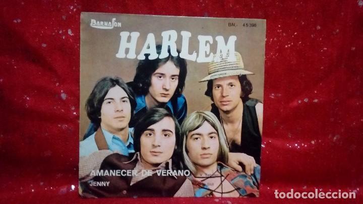 HARLEM - AMANECER DE VERANO / JENNY - SINGLE - BARNAFON - 1973 - SPAIN (Música - Discos de Vinilo - Maxi Singles - Solistas Españoles de los 70 a la actualidad)