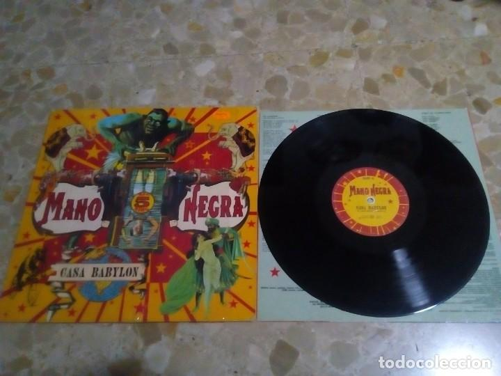 VINILO MANO NEGRA CASA BABYLON (Música - Discos - LP Vinilo - Pop - Rock Extranjero de los 90 a la actualidad)