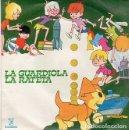 Discos de vinilo: GINA MARCEL / JAIME MESTRES – CANCIONES INFANTILES: LA GUARDIOLA / LA RATETA - SINGLE COLUMBIA 1964. Lote 159920346
