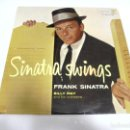 Discos de vinilo: LP. SINATRA SWINGS. FRANK SINATRA. BILLY MAY AND HIS ORCHESTRA. DISQUES VOGUE. Lote 159926134