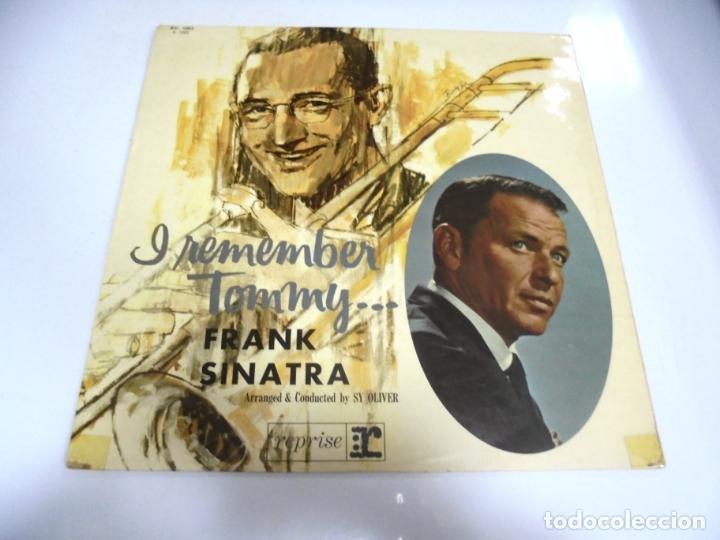 LP. FRANK SINATRA. I REMEMBER TOMMY... DISQUES VOGUE. (Música - Discos - LP Vinilo - Cantautores Extranjeros)