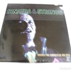 Discos de vinilo: LP. FRANK SINATRA. SINATRA & STRINGS. ARRANGED AND CONDUCTED BY DON COSTA. DISQUES VOGUE. Lote 159926226