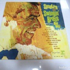 Discos de vinilo: LP. SINATRA AND SWINGIN BRASS. ARRANGED AND CONDUCTED BY NEAL HEFTI. VOGUE. Lote 159926322