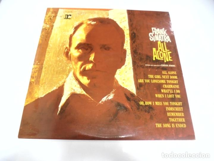 LP. FRANK SINATRA. ALL ALONE. ARRANGED AND CONDUCTED BY GORDON JENKINS. VOGUE (Música - Discos - LP Vinilo - Cantautores Extranjeros)