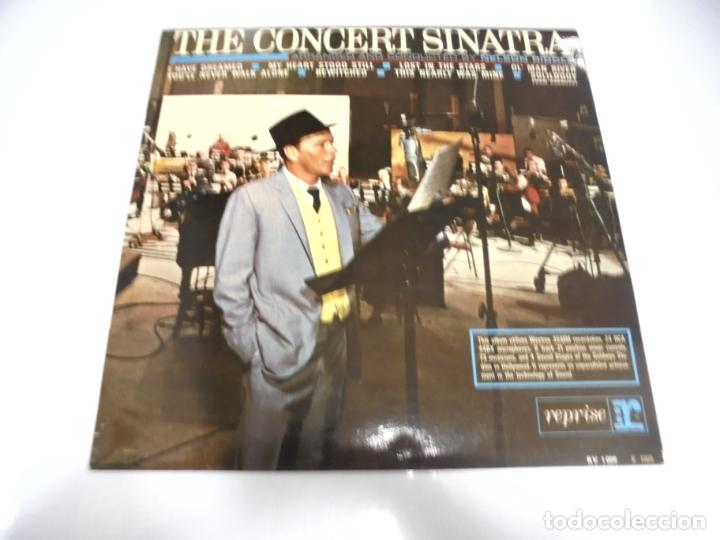 LP. THE CONCERT SINATRA. CONDUCTED BY NELSON RIDDLE. DISQUES VOGUE (Música - Discos - LP Vinilo - Cantautores Extranjeros)
