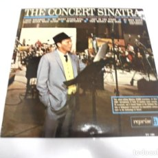 Discos de vinilo: LP. THE CONCERT SINATRA. CONDUCTED BY NELSON RIDDLE. DISQUES VOGUE. Lote 159927974