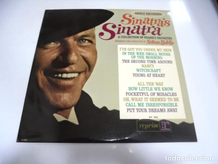LP. SINATRAS SINATRA. A COLLECTION OF FRANKS FAVORITES. REPRISE (Música - Discos - LP Vinilo - Cantautores Extranjeros)