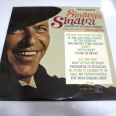 Discos de vinilo: LP. SINATRA'S SINATRA. A COLLECTION OF FRANK'S FAVORITES. REPRISE. Lote 210541960