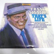 Discos de vinilo: LP. FRANK SINATRA. THAT'S LIFE. DISQUES VOGUE. Lote 159928894