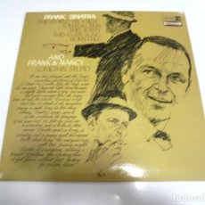 Discos de vinilo: LP. FRANK SINATRA. THE WORLD WE KNEW. AND FRANK & NANCY. SOMETHIN' STUPID. DISQUES VOGUE. Lote 159929430