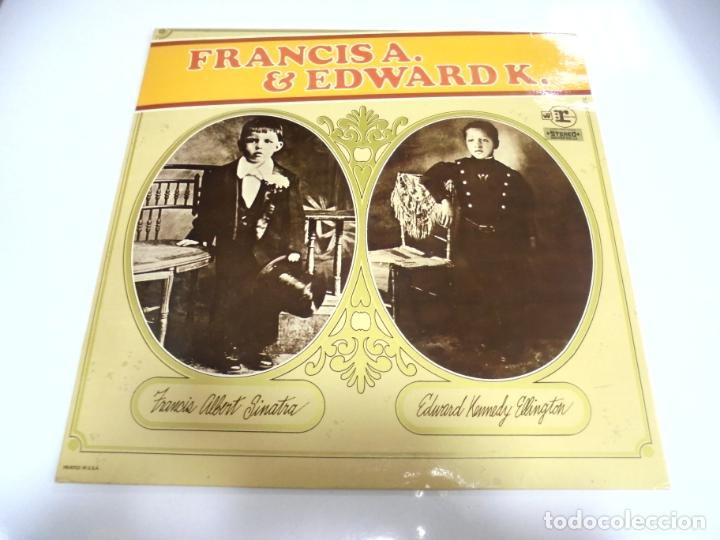 LP. FRANCIS A. SINATRA & EDWARD K. ELLINGTON. DISQUES VOGUE (Música - Discos - LP Vinilo - Cantautores Extranjeros)