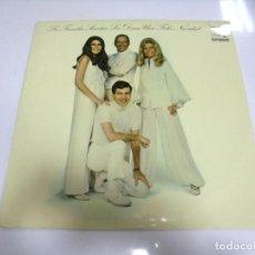 Discos de vinilo: LP. LA FAMILIA SINATRA LES DESEA UNA FELIZ NAVIDAD. SONNY BURKE. HISPAVOX.. Lote 210541903