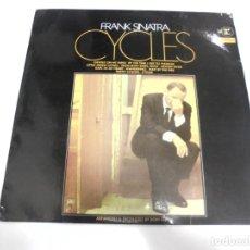 Discos de vinilo: LP. FRANK SINATRA. CYCLES. DISQUES VOGUE. Lote 159930898