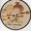 Discos de vinilo: LA RATITA PRESUMIDA, SINGLE PICTURE SAYTON 1971. Lote 159931198