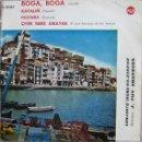 Discos de vinilo: CONJUNTO IRUÑA´KO - ZORZIAK: BOGA BOGA / KATALIÑ / FESTARA / OYEK NERE ANAYAK. Lote 159932614