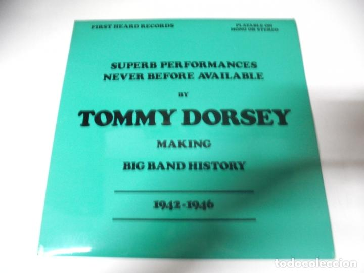 LP. SUPERB PERFORMANCES NEVER BEFORE AVAILABLE BY TOMMY DORSEY. 1942 - 1946. CLOUT & BAKER (Música - Discos - LP Vinilo - Jazz, Jazz-Rock, Blues y R&B)