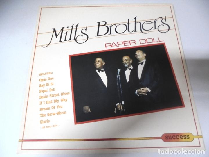 LP. MILLS BROTHERS. PAPER DOLL. 1986. SUCCESS. (Música - Discos - LP Vinilo - Jazz, Jazz-Rock, Blues y R&B)