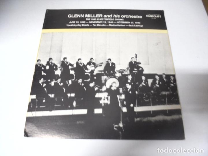 LP. GLENN MILLER AND HIS ORCHESTRA. 1940. SOUNDCRAFT (Música - Discos - LP Vinilo - Jazz, Jazz-Rock, Blues y R&B)