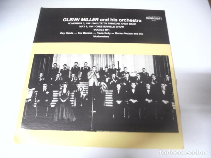 LP. GLENN MILLER AND HIS ORCHESTRA. 1941. SOUNDCRAFT (Música - Discos - LP Vinilo - Jazz, Jazz-Rock, Blues y R&B)