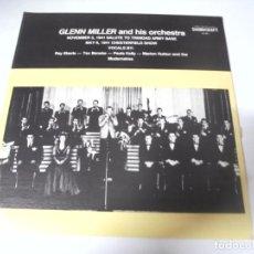 Discos de vinilo: LP. GLENN MILLER AND HIS ORCHESTRA. 1941. SOUNDCRAFT. Lote 159942842