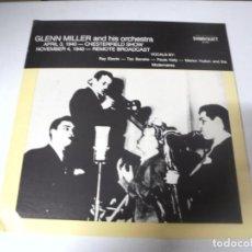 Discos de vinilo: LP. GLENN MILLER AND HIS ORCHESTRA. 1941. SOUNDCRAFT. Lote 159942906