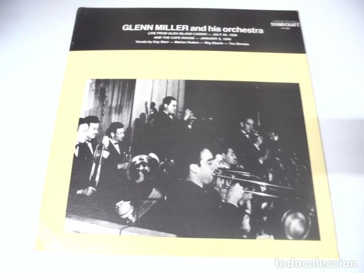 LP. GLENN MILLER AND HIS ORCHESTRA. 1939 - 1940. SOUNDCRAFT (Música - Discos - LP Vinilo - Jazz, Jazz-Rock, Blues y R&B)